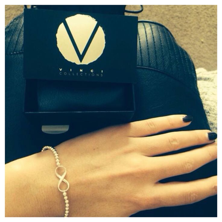 HAPPY CUSTOMER!! The beautiful Rachel.M wearing the adorable Infinity ball bracelet!! SHOP NOW || >>  www.vincicollections.com.au