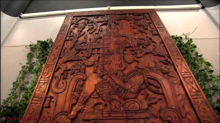 "King Pakal's Spaceship, The Ancient Mayan Astronaut ""Palenque astronaut"""