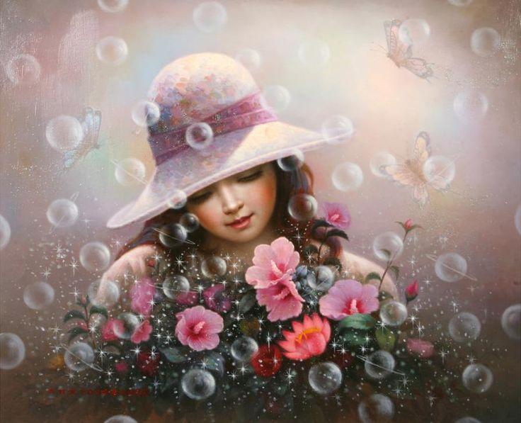 Мыльный пузырь девушки - Роза Шарона песни