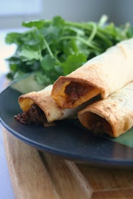 Meal Planning 101: Creamy Beef Taquitos