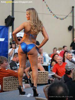 Butt contest Bikini