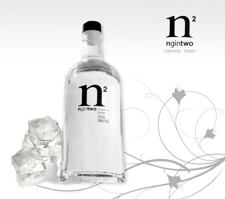 NGIN TWO gin - ginebra PD | G I N E S P A Ñ O L A S, Nuevo ...