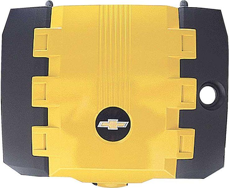 2010-13 Camaro V6 - Engine Cover - Rally Yellow