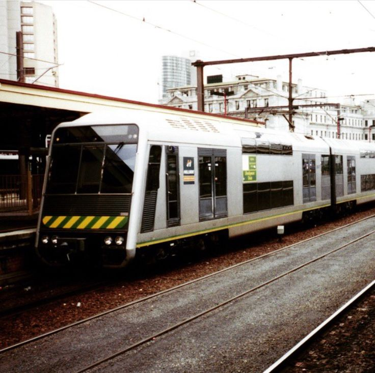 Melbourne - Double level train used for a short time.