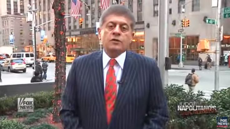"Trump Ally: Fox Judge And 9/11 Truther Andrew Napolitano Is ""Probably Trump's Number One Pick For"" Supreme Court  Judge Nap - Great guy!!"