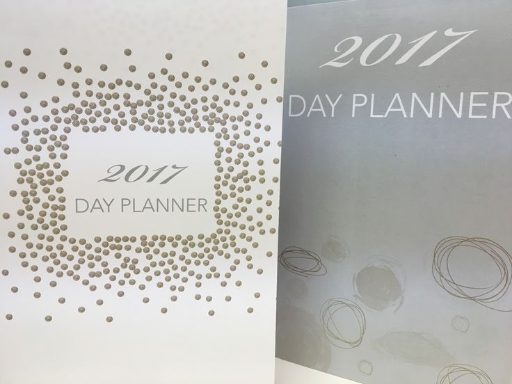 Custom day planners designed and printed by Rengel Printing Company.