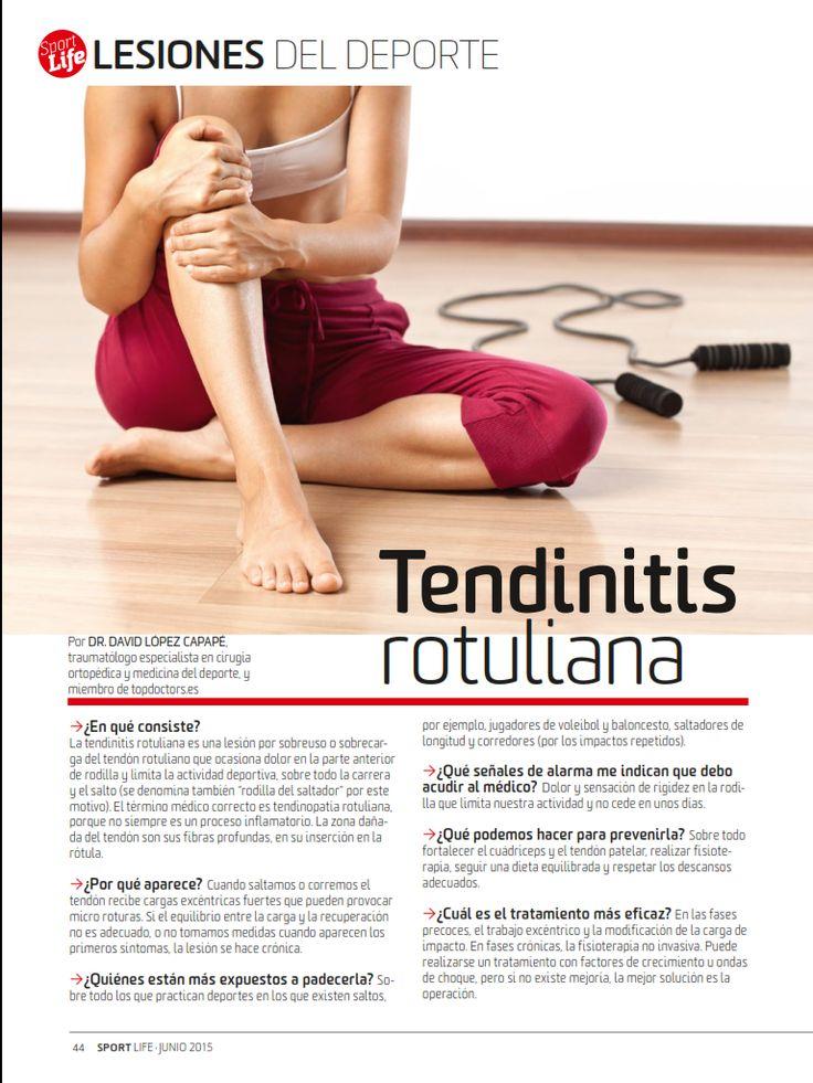 Como Correr Mas Rapido: Tendinitis Rotuliana-Lesiones Deportivas. Clínica de Artrosis y Osteoporosis www.clinicaartrosis.com PBX: 6836020