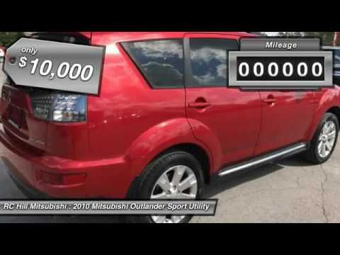 2010 Mitsubishi Outlander DeLand Daytona Orlando AZ004525