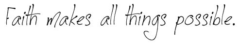 Faith i would have this on one of my feet :D or on the back of my neck going down to my shoulder :D