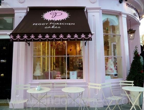 Cake store on London's trendy Elizabeth Street