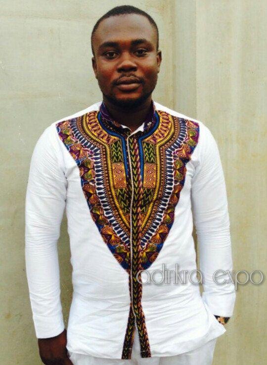 Men's Dashiki Shirt/ Dashiki Shirt/ African Print / Men's African clothes