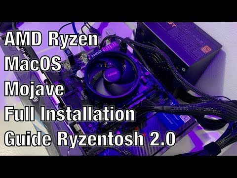 AMD Ryzen MacOS Mojave Full Installation Guide Part 2
