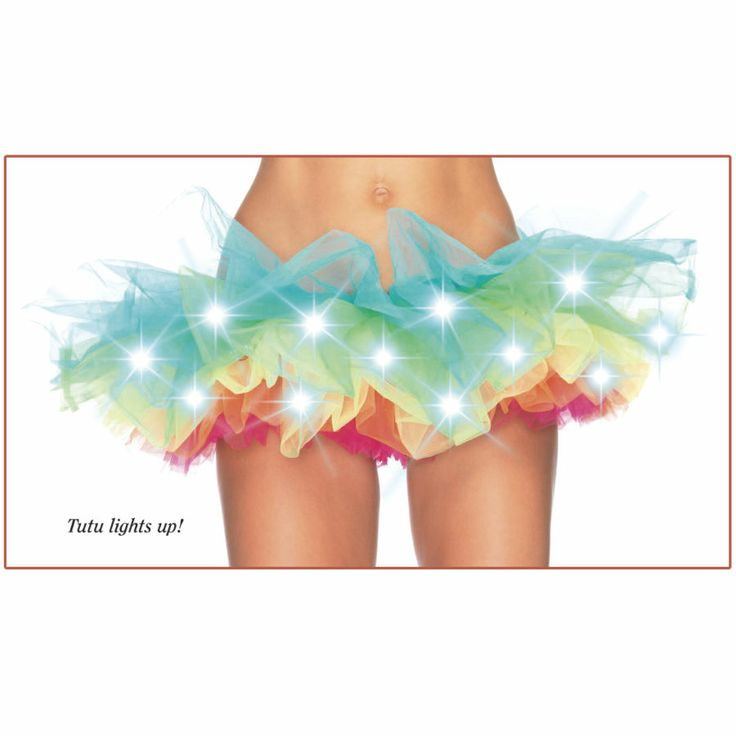 Rainbow Light Tutu - New Age, Spiritual Gifts, Yoga, Wicca, Gothic, Reiki, Celtic, Crystal, Tarot at Pyramid Collection