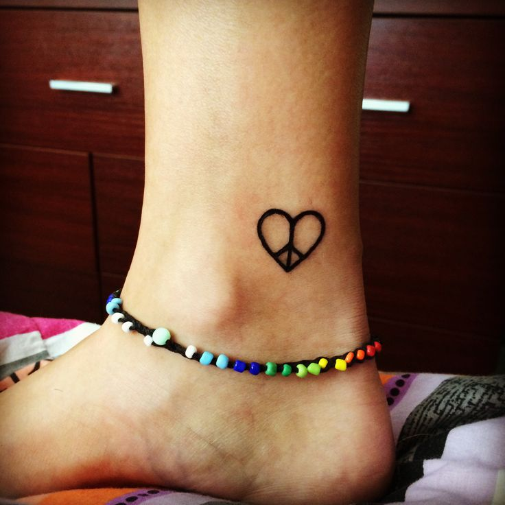 35 Best Peace Tattoos Images On Pinterest: First Edition Love And Peace ️ ️