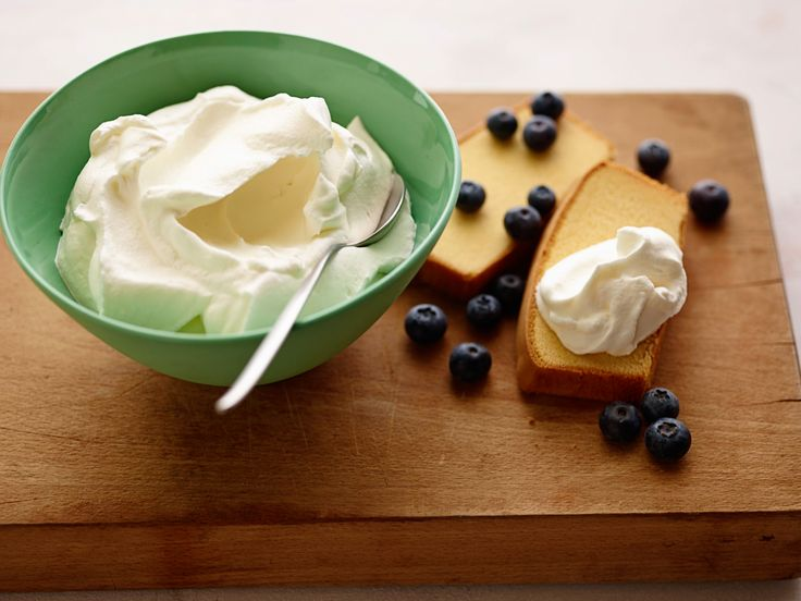 Whipped Cream recipe from Alton Brown via Food Network