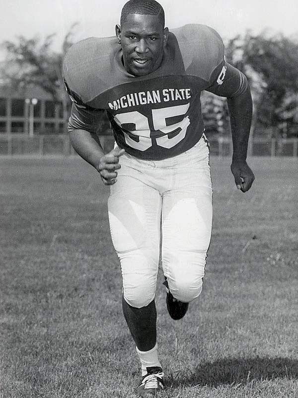 Bubba Smith Michigan State Spartans Michigan State Football Msu Spartans Football College Football Players
