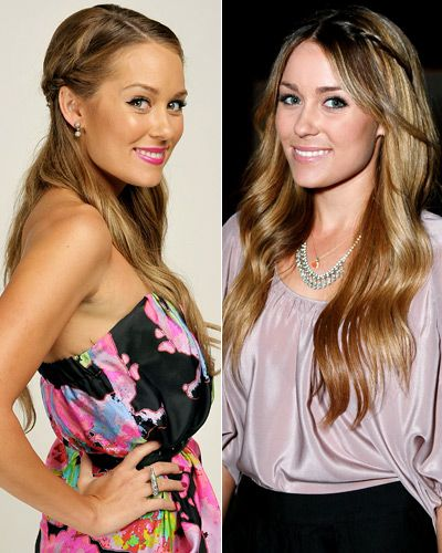 #LaurenConrad's signature hairstyle is her braid. Take a cue from the star's assortment of styles and try a side braid with a half updo or casually twist one into your strands when you wear it down. http://www.instyle.com/instyle/package/general/photos/0,,20578365_20577376_21129969,00.html