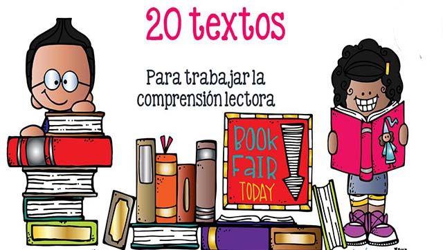 20 textos cortos para trabajar la comprensión lectora