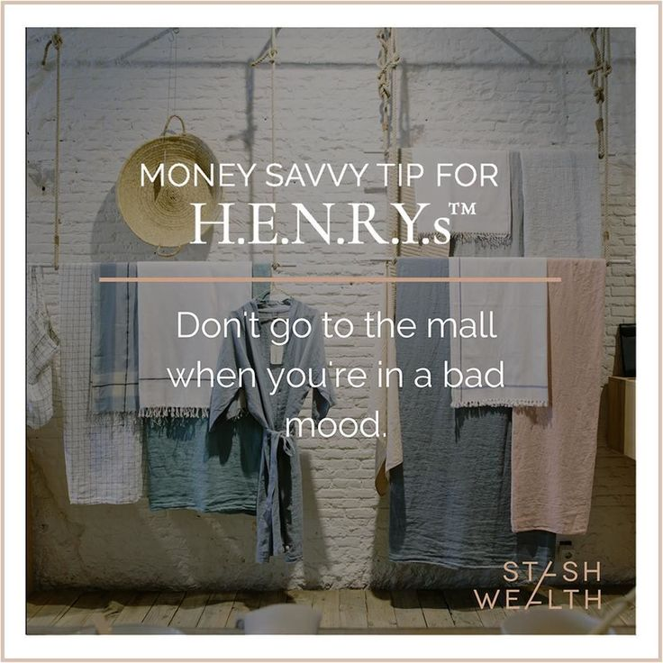 Like not going to the grocery store hungry this advice can save you lots of money and a few trips back to the mall to return unwanted items.  Money and emotions don't mix well so make sure you don't let them affect one another.   Happy Hustling #shopping #emotionalmama