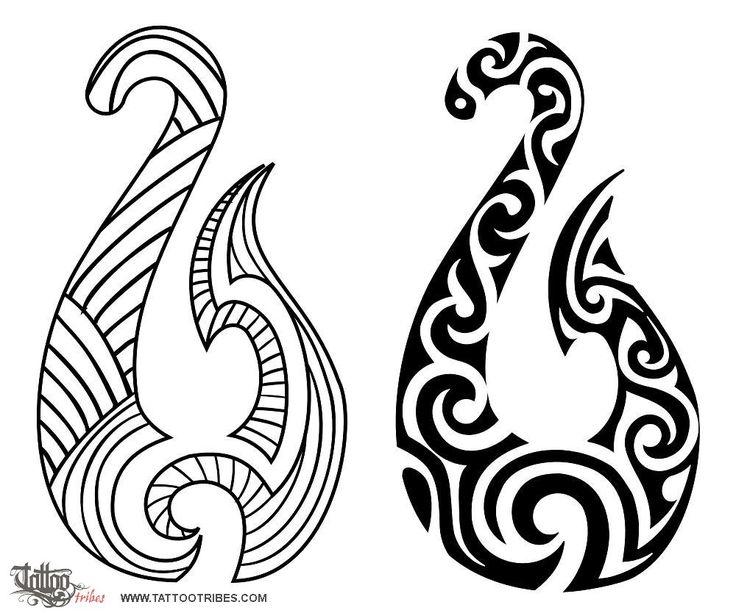 Tatuaggio di Hei Matau, Prosperità, determinazione tattoo - custom tattoo designs on TattooTribes.com