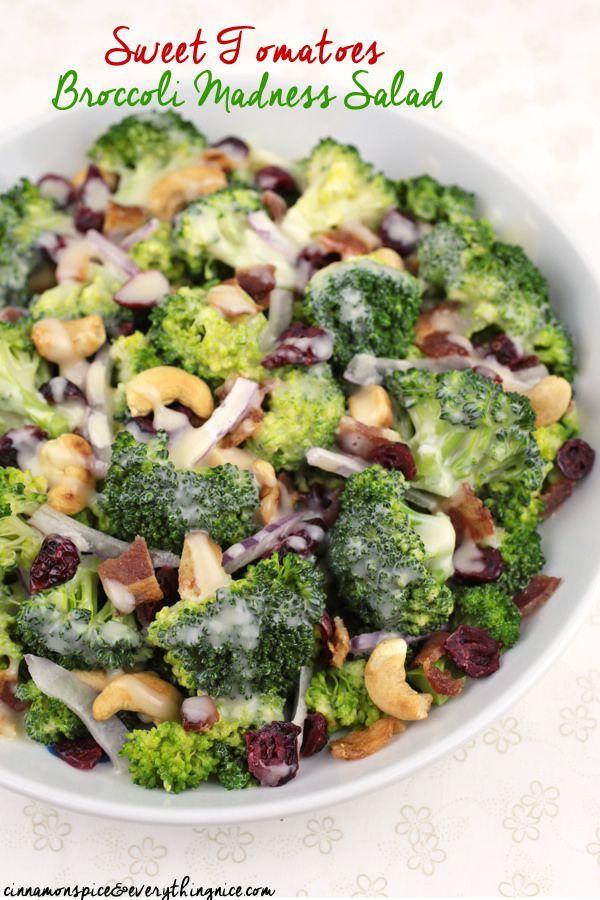 Sweet Tomatoes Broccoli Madness Salad #Thanksgiving