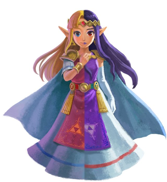 princess hilda a link between worlds | The new Zelda Link Between Worlds introduces a new world