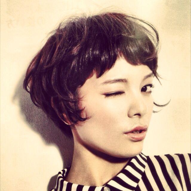 Enjoyable 1000 Ideas About Bangs Short Hair On Pinterest Short Short Hairstyles Gunalazisus