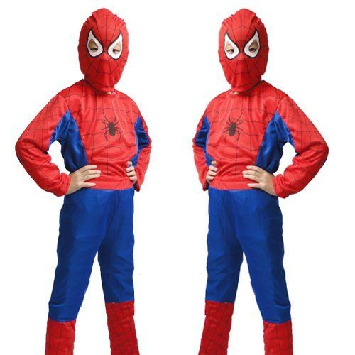 New Marvel Halloween Cosplay Kids Spiderman Costume, One Size in M World Pride. $10.99