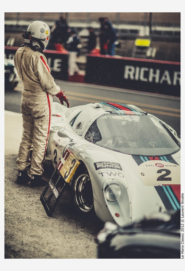 Beautiful photos from the Le Mans Classic 2012