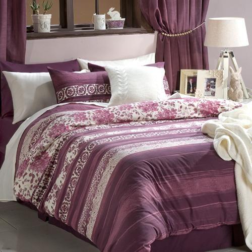 Printed polycotton | Floral pattern | Matching pillowcase(s) | Machine washable