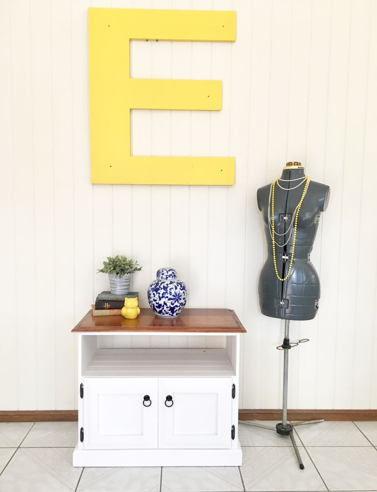 Country Style Tv Unit #AtHomeVintage