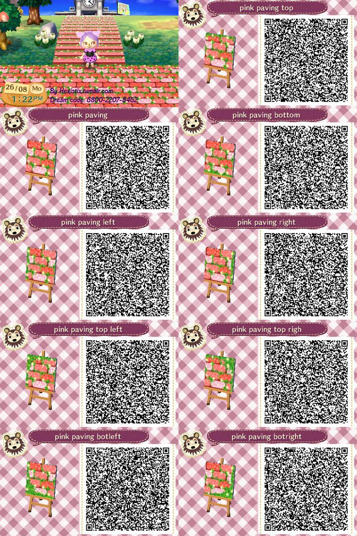 Animal Crossing: New Leaf & HHD QR Code Paths — Credit