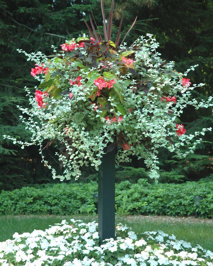10 Best Basket Columns Images On Pinterest Garden Pots