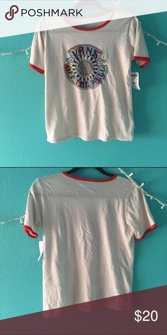 Brand New Hippie Vans Tee Never worn, new with tags. I already had this shirt then got it as a gift!  Price is negotiable, just use the offer button! *Check out the rest of my closet & bundle for a discount💗 Vans Tops Tees - Short Sleeve