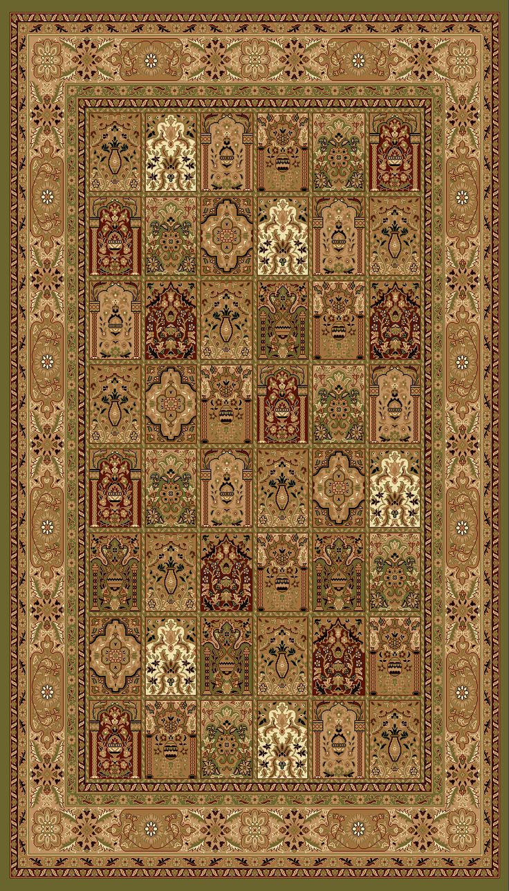 2-Piece Set | Bundle & Save Product Description: Antique Persian style designs in the best quality in the market. Unique patterns with traditional colors. Well-formed cultural rugs made with 100% Poly