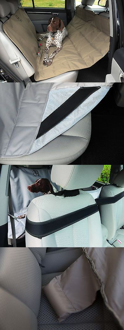Car Seat Covers 117426: New! Petego Dog Car Seat Protector Hammock, X-Large, Tan -> BUY IT NOW ONLY: $70.98 on eBay!