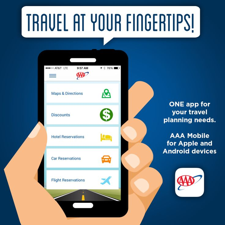Travel Tip Simplify Your Needs With The Aaa Mobile It Not Only