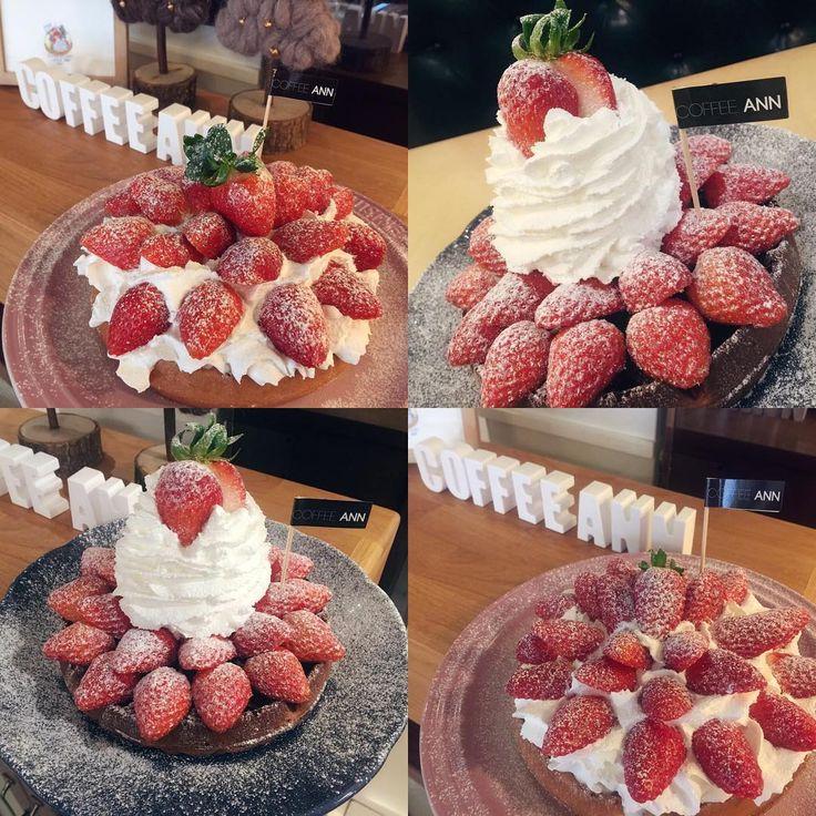 #커피앤 #coffeeann #waffle #homemade #handmade #dessert #cafe  #coffee #food #foodstagram#cake #bread #동래 #카페 #부산카페 #동래카페 #커피 #와플#딸기 #디저트#먹방 #먹스타그램 #맛스타그램 #빵스타그램  #데이트 #부산베이킹 #카페메뉴#딸기메뉴#와플교육 . . 초코딸기랑 스트로베리와플🍓🍓 히트다 히트💃🏻💃🏻 흐흐 오늘도 화이팅입니다💪🏼