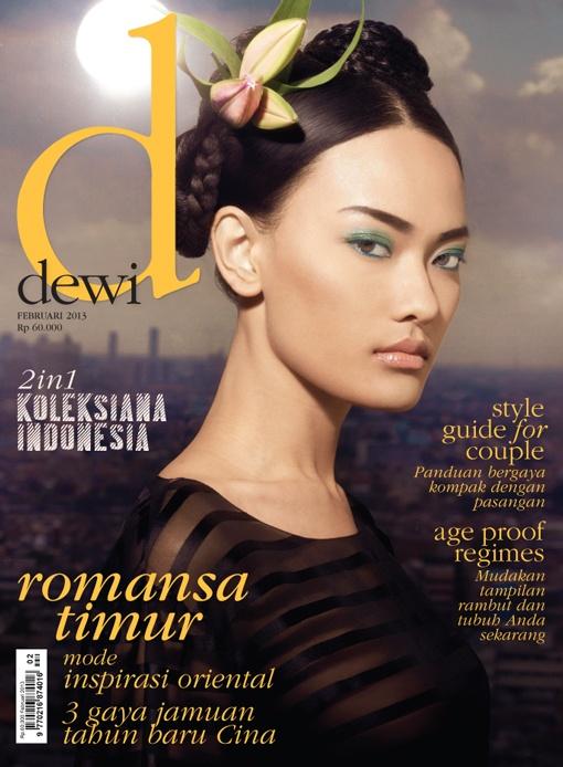 February 2013,                           Model: Dara Warganegara,  Photographer: Luki for Lukimages,  Stylist: Karin Wijaya  Hair do: Irwan Team Hair Design for L'Oreal Professionnel,  Make Up: Irwan Team Hair Design,  Wardrobe: Chanel