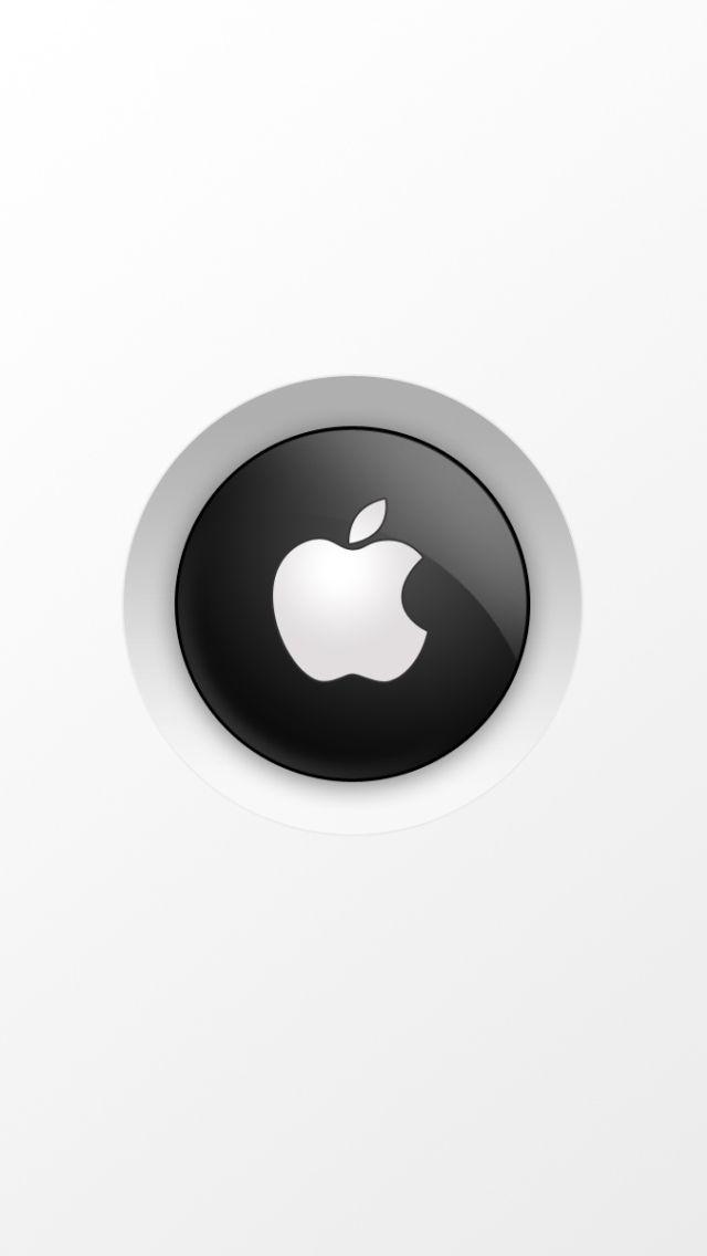 iPhone 5 Wallpaper Apple White Logo 04