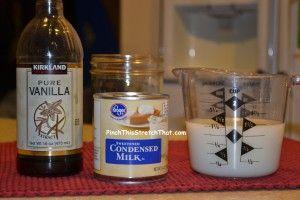 Homemade French Vanilla Creamer