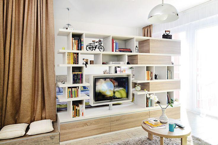 Garsonieră transformată în apartament cu două camere 9