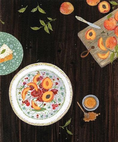 Nectarines by Becca Stadlander