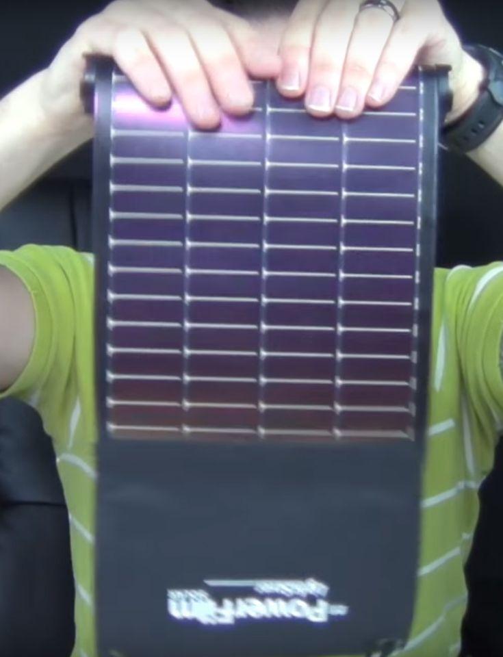 Ultralight Backpacking Solar Charger Solar Charger Solar Power Diy Solar Phone Chargers