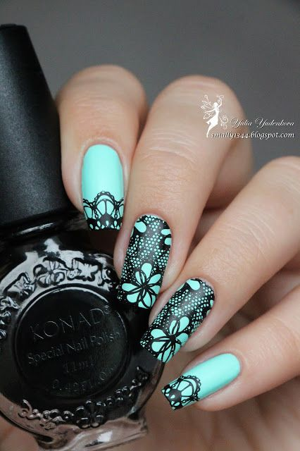 Dance Legend Бархат 650 + стемпинг Born Pretty Stamping Plate BP-L020