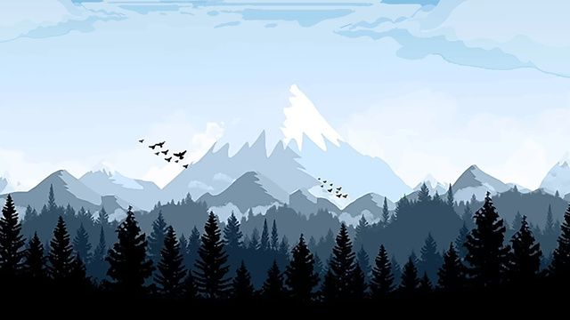 Snowy Mountain In The Forest Of Good Morning Forest Good Morning Snow Mountain Illustration Image On Pngtree Free Download On Pngtree Scenery Wallpaper Desktop Wallpaper Art Computer Wallpaper Desktop Wallpapers Cool mountain backgrounds for computer