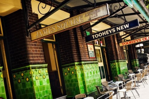 The Rocks. Pubs. Cobblestone streets. History. The entire package if you ask us. #sydney