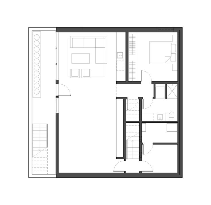 Gallery - Houses at 1340 / office of mcfarlane biggar architects + designers - 16