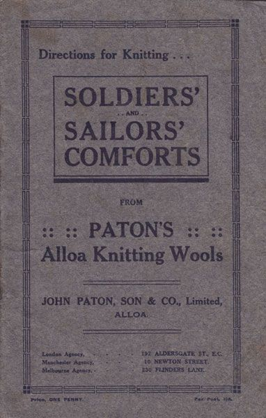 Soldiers Sailors Comforts  Alloah Knitting Wools @Matty Chuah Beehive Brand Www.thebeehivebrand.com