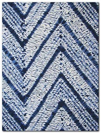 "Melaya Indigo:Batik Fabric, multipurpose fabric perfect for upholstery and draperies. 100% cotton, V 13.5"", H 27"", 54"" wide."